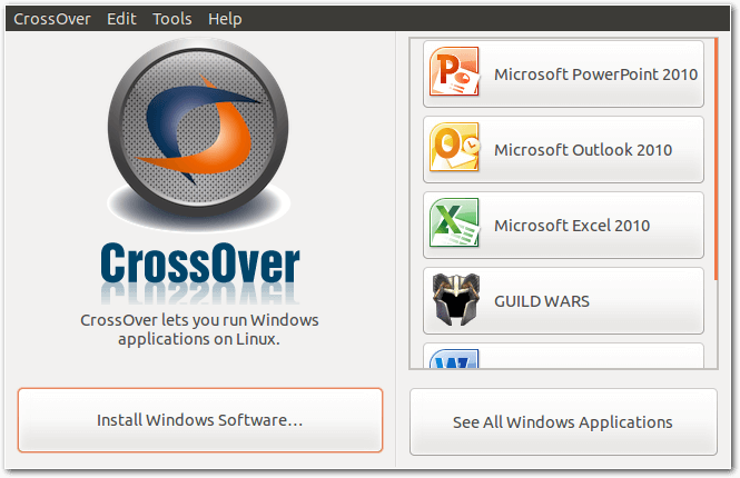 CrossOver Linux download