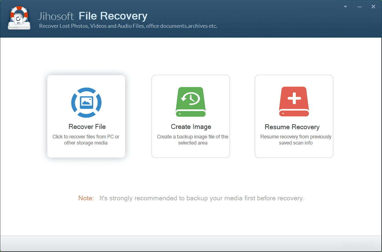Jihosoft File Recovery 8.30.0 Crack for windows